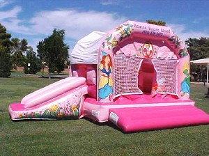 Used Princess Combo Bounce and Slide
