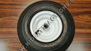 "13"" tall Trailer Dolly wheel and tire assy"