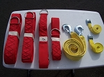 Inflatable Rolling Strap Package