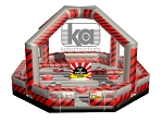 Ninja Warrior Dome Black and Red