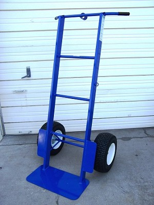 heavy duty 2 wheel dolly with 1000 pound capacity - Heavy Duty Hand Truck