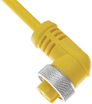 Ninja Warrior Dome Control Box Cable to Base - Yellow